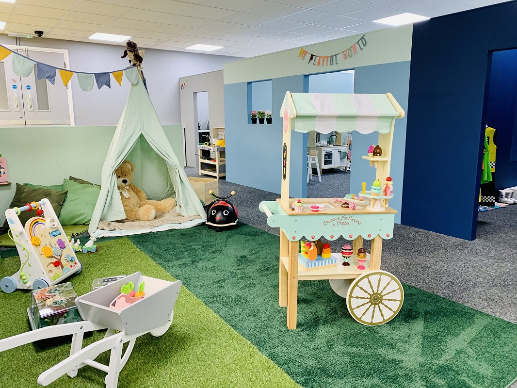 Playcentre and activity venue in Nottinghamshire off the A1 in Tuxford near Retford Ollerton and Worksop